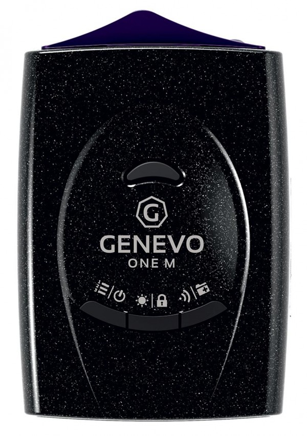 Genevo One M Edition - Radar-Warner - Ansicht von oben