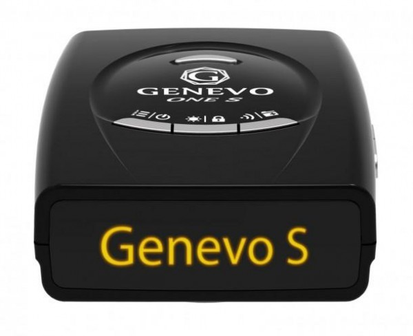 Genevo One S - Frontansicht