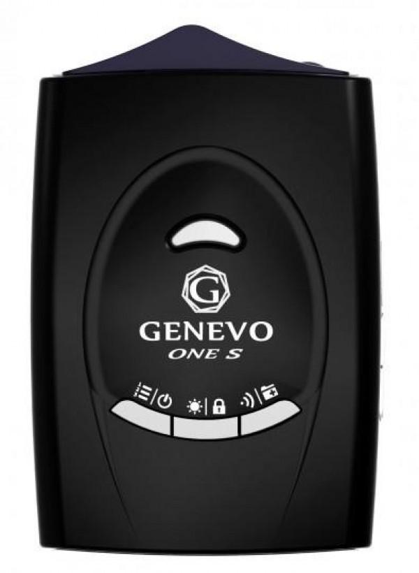 Genevo One S - mobiler Radarwarner - Ansicht von oben