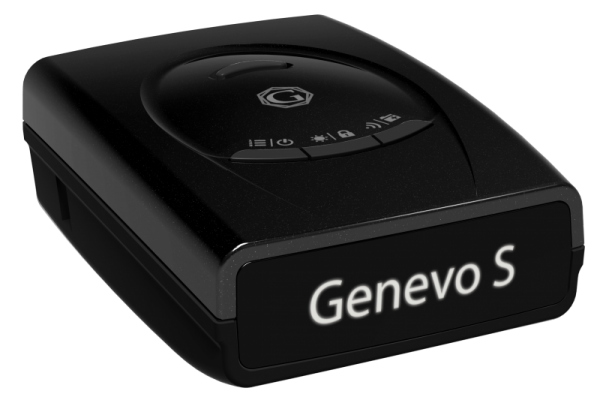 Genevo One S Black Edition - mobiler Radarwarner - Seitenansicht