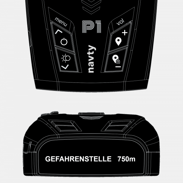 NAVTY P1 – Basic Edition - Knöpfe